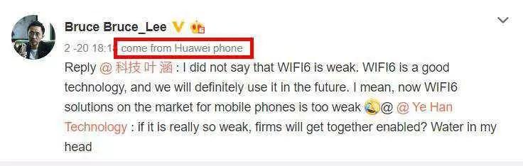 Vice presidente da Huawei confirma o uso de Wi-Fi 6 em smartphones no futuro, P40 ou Mate 40? 2