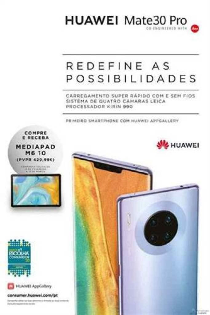 Huawei Portugal equipara oferta de Espanha e está a OFERECER um MediaPad M6 na compra de um Huawei Mate 30 Pro 1