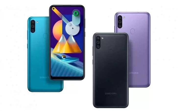 Samsung Galaxy M11 é oficial com ecrã Infinity-O e três câmaras