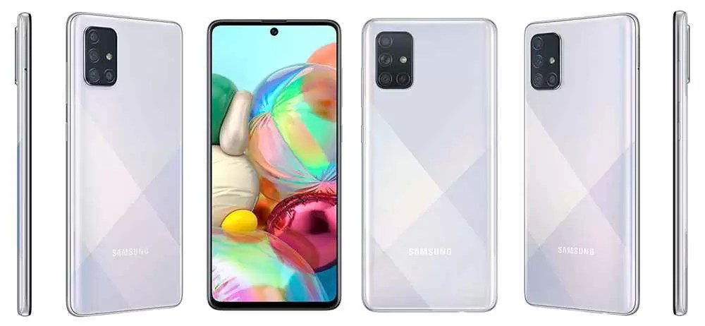 Especificações do Samsung Galaxy A71 5G (SM-A7160) emergem na TENAA 1