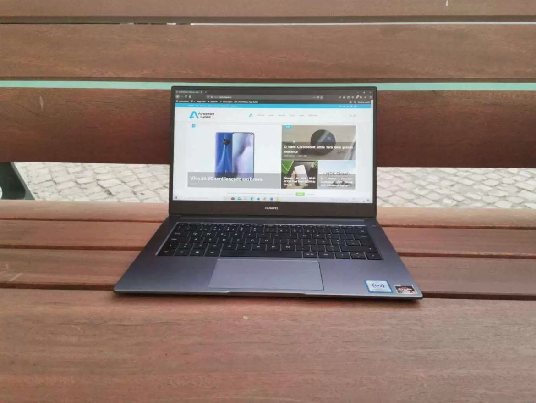 Análise MateBook D 14 (2020) elegante e mais rápido 12