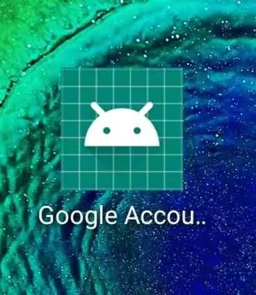 ícone Gestor de Conta Google