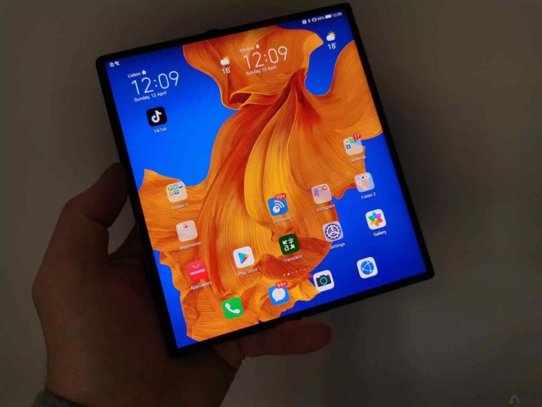 Análise Huawei Mate Xs. Os nossos sonhos tornados realidade 10