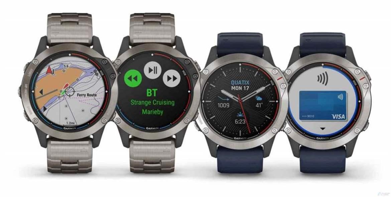 Garmin apresenta quatix 6, o autêntico relógio náutico inteligente 1