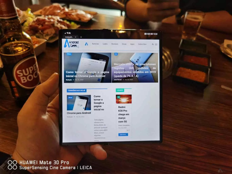 Análise Huawei Mate Xs. Os nossos sonhos tornados realidade 18