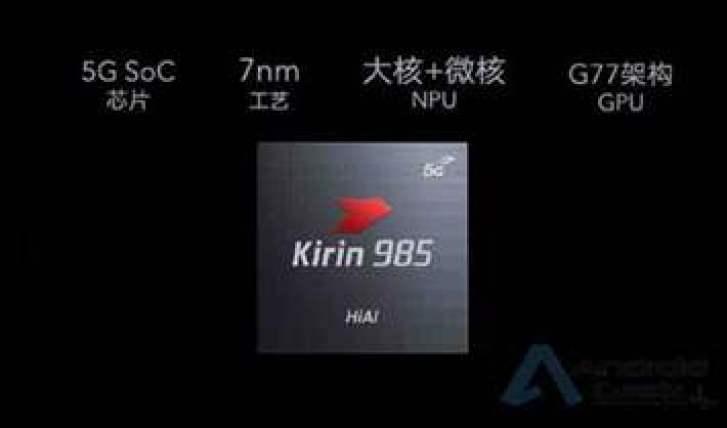 Tudo o que precisam saber sobre o Kirin 985: 7nm, 5G, Cortex A76, GPU Mali-G77, NPU Da Vinci, ISP 5.0 3
