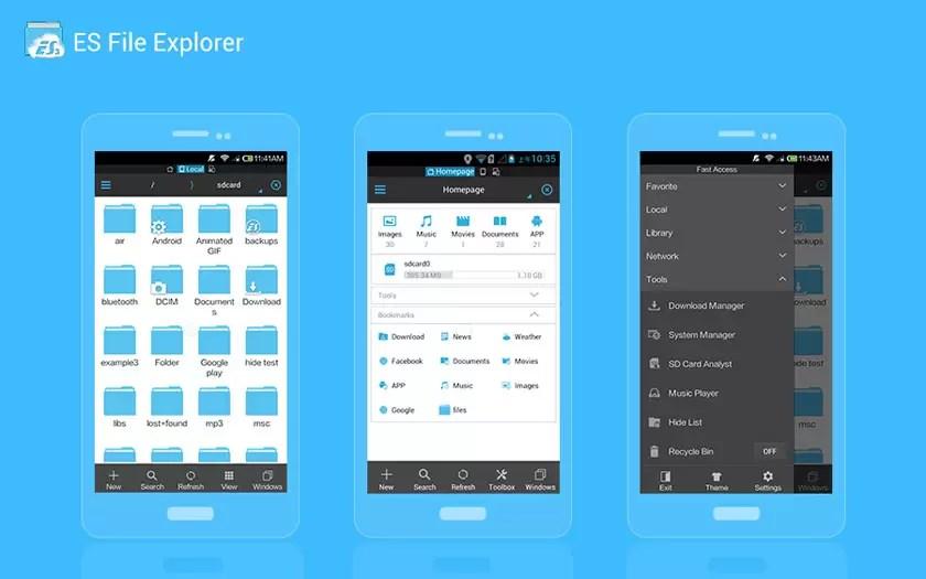 Os melhores gestores de arquivos para Android 1