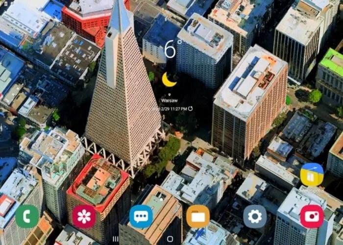 Metropolis 3D City Live Wallpaper