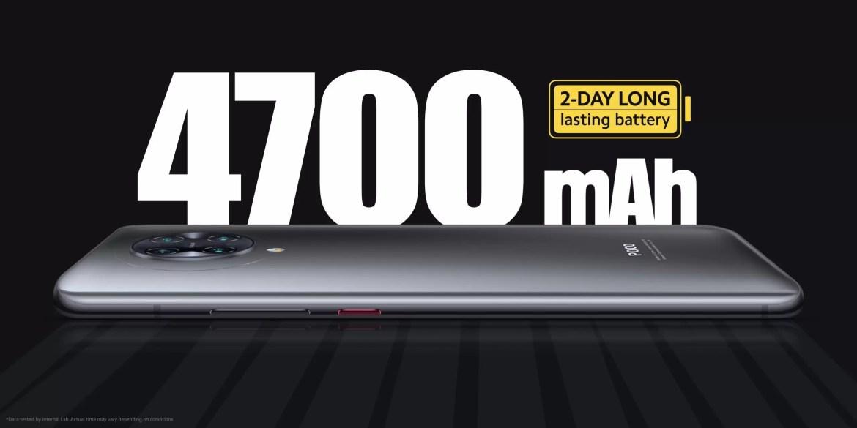 POCO F2 Pro, bateria
