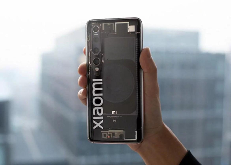 Xiaomi Mi 10 transparente