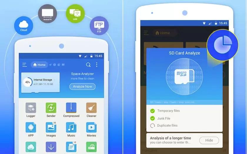 Melhores gerenciadores de arquivos do Android