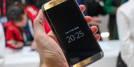 O prémio para o melhor smartphone da MWC 2017 foi para: Galaxy S7 Edge 1