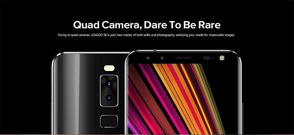 Comparação da câmera: LEAGOO S8 VS Samsung S8 Plus 2