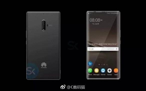 Suposto Huawei Mate 10