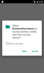 Requesting Runtime Permission - Part 1