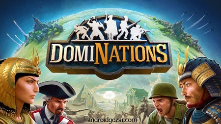 DomiNations 4.451.451 strategic game dominations