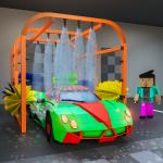 Blocky Car Wash Service Workshop Garage 1.7 APK MOD Unlimited Money