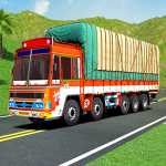 Indian Cargo Truck Transporter City Driver 3D Game 1.0 APK MOD Unlimited Money