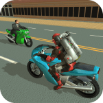 Jetpack Hero Miami Crime 1.8 APK MOD Unlimited Money