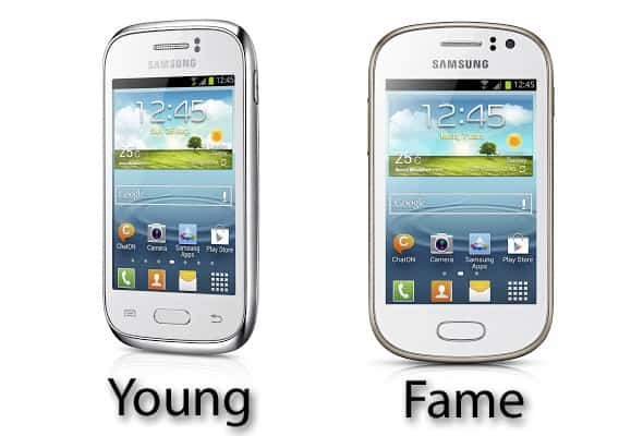 Samsung Galaxy Young and Fame