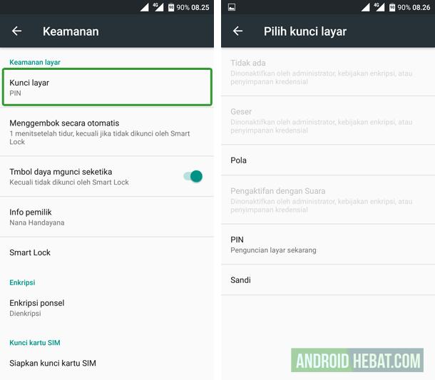tips aman menggunakan android