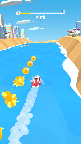 Flippy-Race-5 Android Games Gaming  Flippy Race-fiery greetings from GTA: Vice City