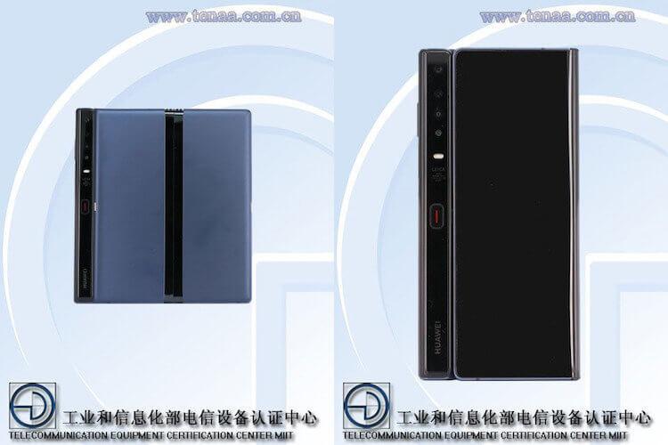 Обновленный Huawei Mate X показали впервые после редизайна