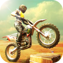 Download Bike Racing 3D v2.0 springboard motor racing game for Android - mobile mode version