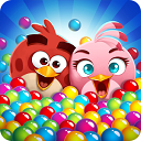 Download game Angry Birds: Shoot the bubbles Angry Birds POP Bubble Shooter v2.26.0 Android - mobile mode version + trailer