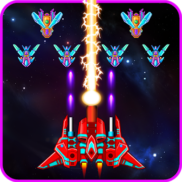 Download Galaxy Attack: Alien Shooter 7.15 - Arcade Galaxy Battle Android