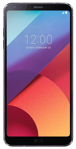 LG G6 rounded corners