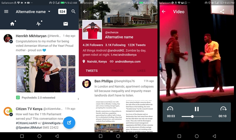 Twitter updated the Android app and made it look like its iOS