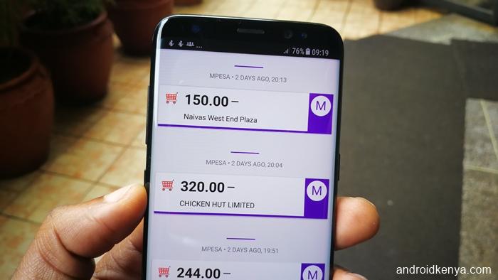 Overview finance app - categorization