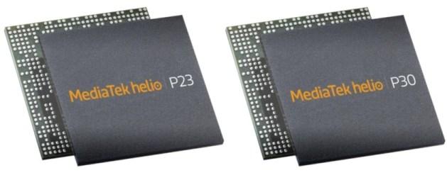 MediaTek Helio P23, Helio P30
