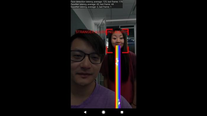 Google Electronic Screen Protector