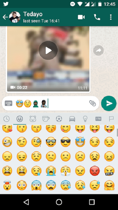 WhatsApp beta 2 17 400 introduces 70 new Android Oreo emojis
