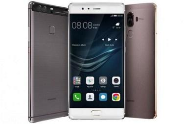 Huawei Mate 9 and Huawei P10