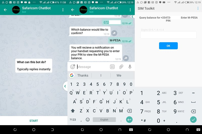 Safaricom ChatBot makes things easier for Telegram and Messenger users