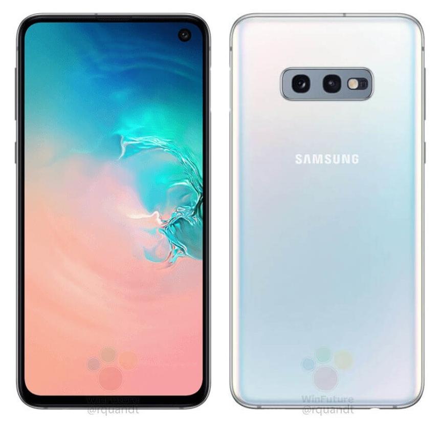 Samsung Galaxy S10e leak