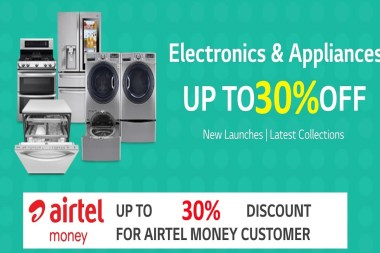 LG Kenya and Airtel Kenya promotion