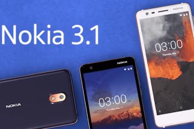 Nokia 3.1 Android Kenya