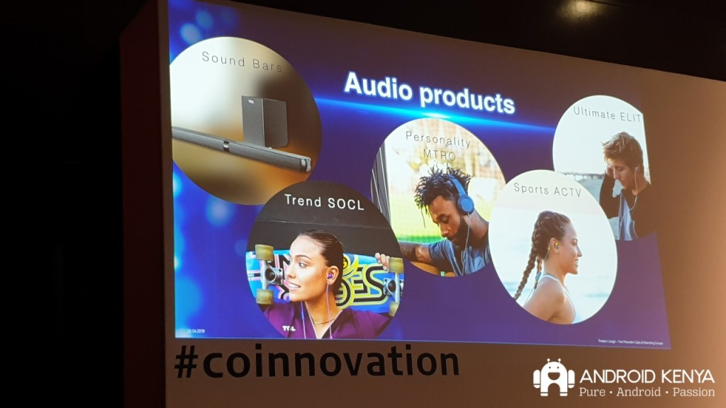 TCL going all out on audio products including headphones and