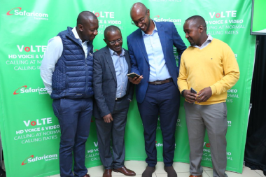 Safaricom VoLTE eligible devices