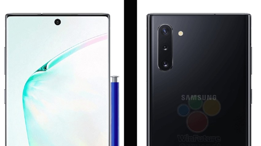Leaked Samsung Galaxy Note 10