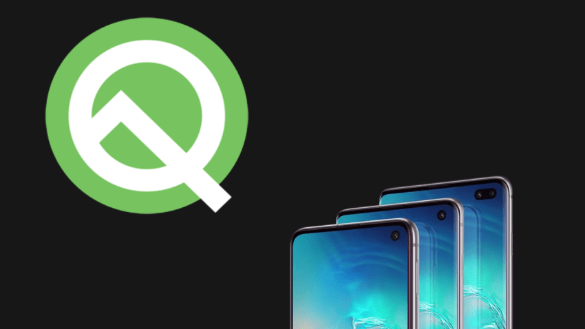 Samsung Android Q update