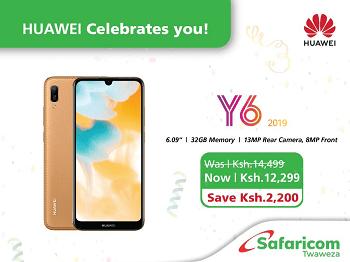 Huawei Y6 Prime 2019 Safaricom discount