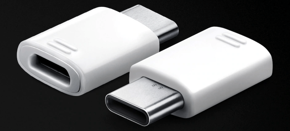 Samsung USB Type-C to microUSB adapter