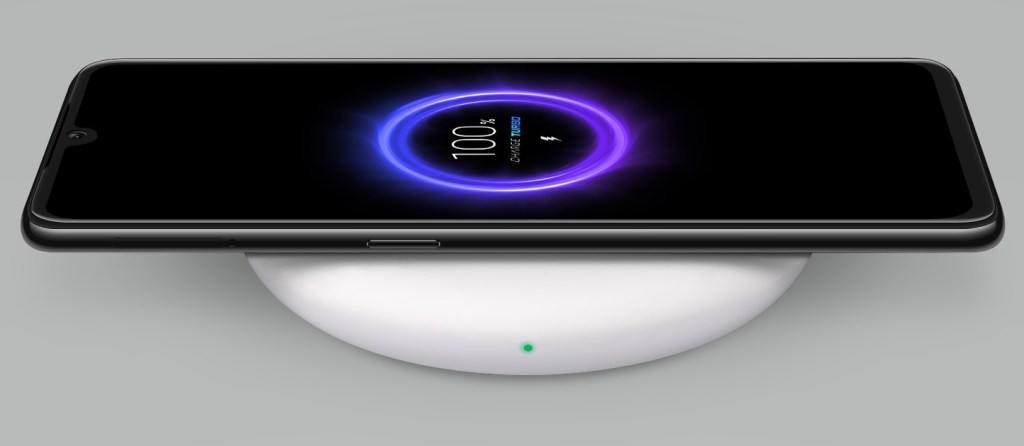 Xiaomi Mi 9 wireless charging