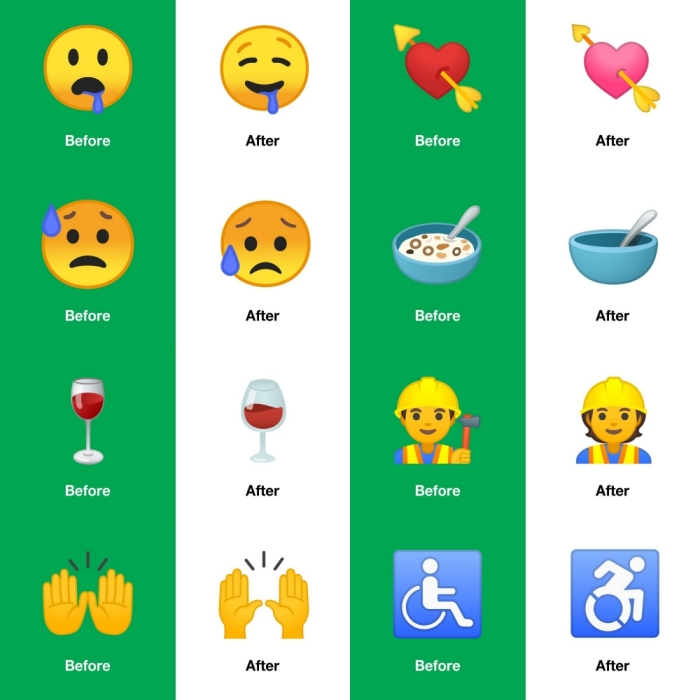 Android 10 brings with it 236 new emoji