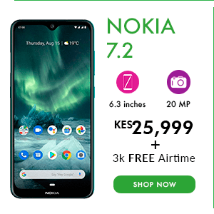 Nokia 7.2 Safaricom deal